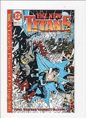 The New Teen Titans 61 NM