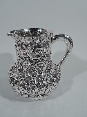 Theodore B Starr Water Pitcher - 76 - Antique - American Sterling Silver