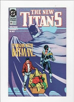 The New Teen Titans 65 NM