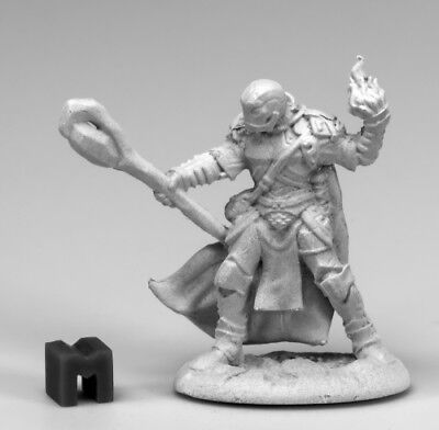 Barbarian Hero #03869 Dark Heaven Unpainted Metal Mini Reaper Miniatures Ankoa