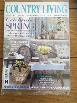 New Country Living Magazine March 2018