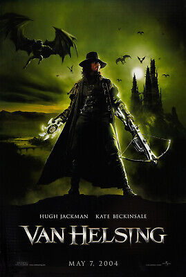 VAN HELSING MOVIE POSTER 2 Sided ORIGINAL Advance 27x40 KATE BECKINSALE