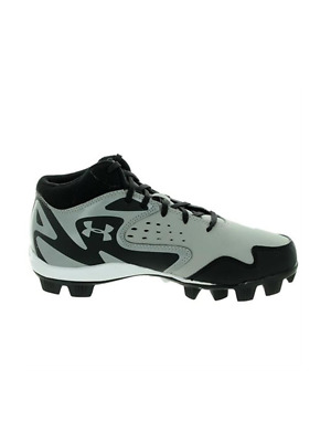 Under Armour Leadoff Mitte RM Jr Grau / Schwarz Youth Geformte Baseball