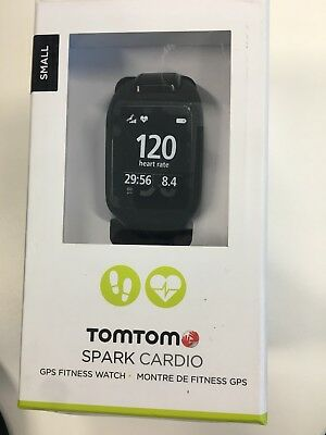 TomTom Spark Cardio GPS Watch - Black / Large, Still have 10 Months Warranty
