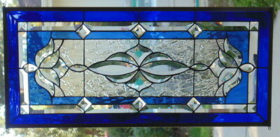 Stained Gl Window Hanging 29 1 2 X 13 4