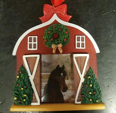 Breyer 2008 Holiday Photo Frame Christmas Ornament Third In Series