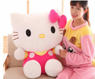 60cm Giant big Japanese Sanrio Jumbo Hello Kitty Plush Toys Stuffed Doll gift