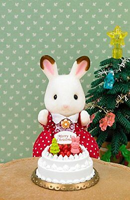 Epoch 27760-2 Sylvanian Families Doll Birthday Cake Set F/S from JAPAN