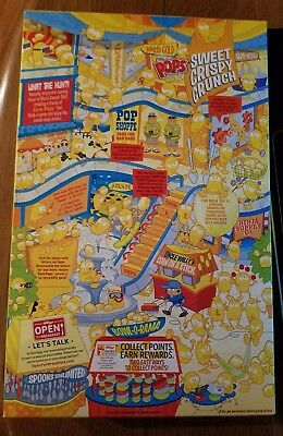 Kellogg's Corn POPS Cereal Janitor Racist Sealed Box Collectible 12.5 oz