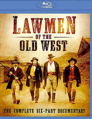 Lawmen of the Old West (Blu-ray Disc,) COMPLETE SIX-PART DOCUMENTARY  NEW