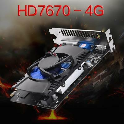 HD7670 4GB GDDR5 128bit PCI-Express 2.0 Gaming Video Graphics Card for PC NVIDIA