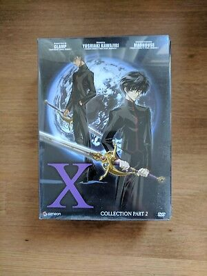 X/1999 TV series anime, limited edition, complete set DVD with X movie CLAMP OOP