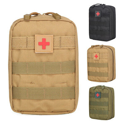Tactical First Aid Kit Bag Emergency Medical Survival Treatment Rescue Empty Box