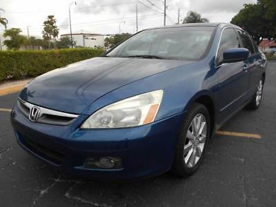 2006 Honda Accord  2006 Honda Accord EX V-6 4dr Sedan 5A 3.0L V6 Automatic Cold AC Florida Vehicle