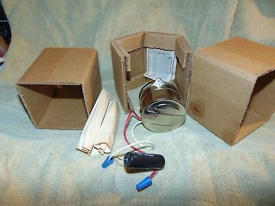 NEW IN BOX Hurst 6 RPM 5 Watt Synchronous Instrument Motor 115 VOLTS REVERIBLE