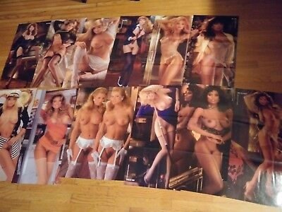 Playboy Magazine 1989 Complete Centerfold Collection Pin-ups! Lot 26