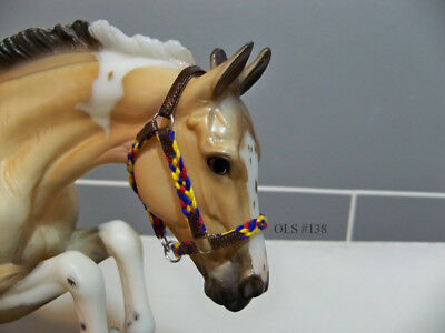 Breyer Traditional Braided Halter - Primary Colors - For Model Horses