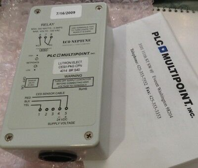 Lutron DHCM Photocell Single Level Lighting Control LC8-Neptune PLC Multipoint