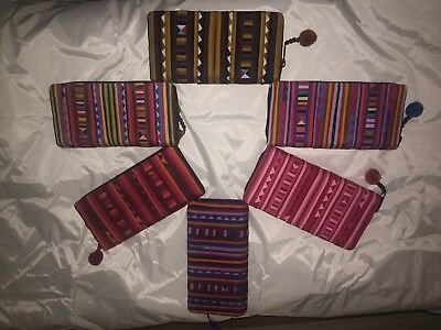 Wholesale Lot Colorful Wallets From Thailand Hmong Tribe