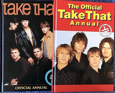 Take That Official 1994 and 1995 Annual