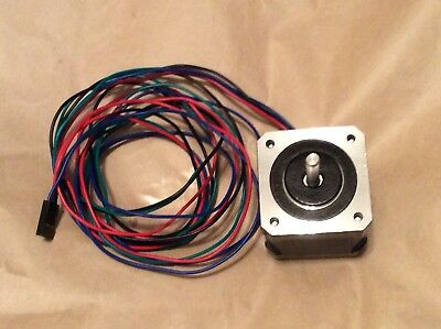 US Ship 23Ncm Nema 14 Stepper Motor Bipolar 0.5A 32.6oz.in 4-wires OSM