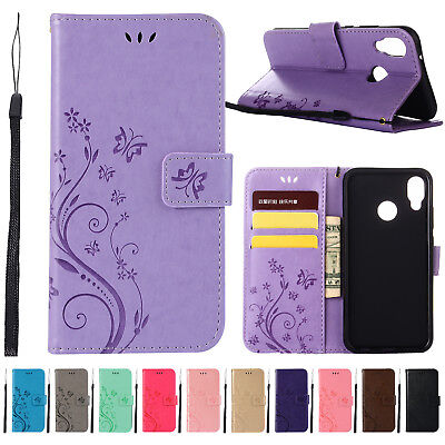 Case Cover for Huawei P20 P8 P9 Lite 2017 Pattern PU Leather Flip Wallet Stand