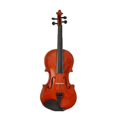 D45 Handmade 4/4 Full Size Wooden Violin Beginners Practice Musical Instrument M