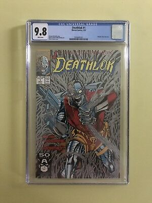 Deathlok #1 CGC 9.8 NM/MT White Pages *Fresh from CGC*