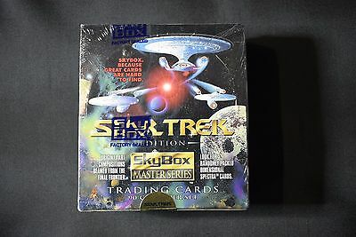 Skybox Master Series Vintage Star Trek Edition Factory Sealed Box 1993