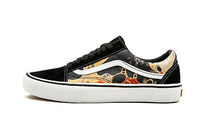 40b0b1e5ed SUPREME NYC X Vans 106 Vulcanized Duck Camo Tan Brown Green size 8 ...