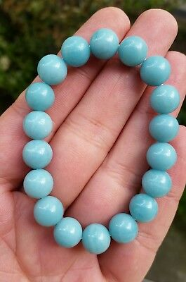 Bracelet en Amazonite  - 10mm- lithotherapie
