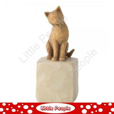 Willow Tree - Figurine Love My Cat (Light) Collectable Gift NEW