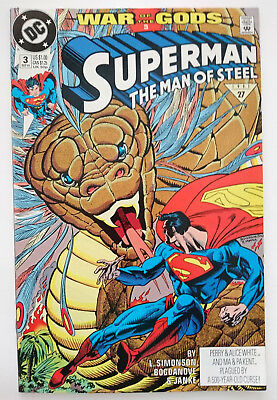Dc   Superman The Man Of Steel   Nr. 3 (1991)   War Of The Gods #3   Z 0-1
