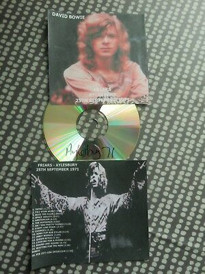 David Bowie - 1 CD - Aylesbury Friars 1971 Concert - One Best gigs ever