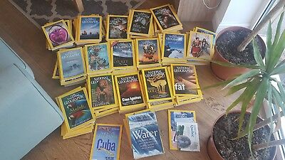 National Geographic Magazines Bundle, over 200 issues 1989 - 2018