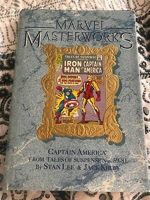 Marvel Masterworks Tales Of Suspense Iron man And Capatain America Volume 14