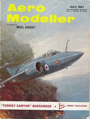 "Aero Modeller Magazine. Volume XXXII, No. 378, July, 1967. ""Torrey Canyon""."
