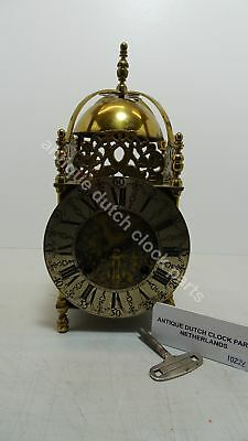 Brass Cromwell Table Clock Rob Evans Halfstead