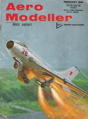 "Aero Modeller Magazine. Volume XXXIII, No. 385, February, 1968. ""Wichita Story""."
