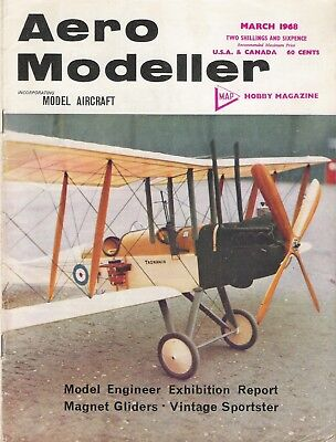 Aero Modeller Magazine. Volume XXXIII, No. 386, March, 1968. Graupner's Wankel.