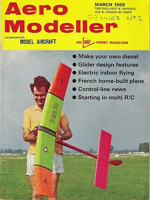 Aero Modeller Magazine. Volume XXXIV, No. 398, March, 1969. Make your own diesel