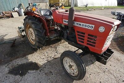 Yanmar YM2500 Tractor 25 HP. Plus Rotavator and other attachments