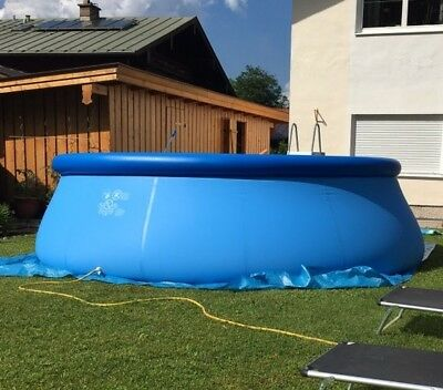 Intex Easy Set Pool 457 X 122cm MIT Zubehör!!!