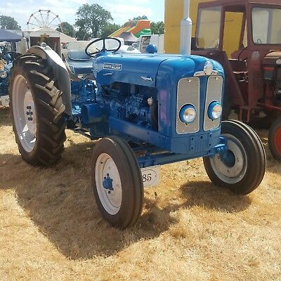 fordson tractor restored 1964