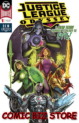 Justice League Odyssey #1 (2018) 1St Printing Sejic Main Cover Dc Universe