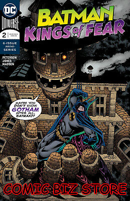 Batman Kings Of Fear #2 (Of 6) (2018) 1St Printing Bagged & Boarded Dc Universe