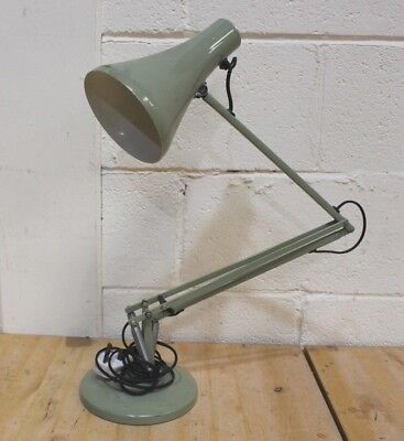 Vintage Anglepoise 90 Industrial Desk Lamp In Green - 254
