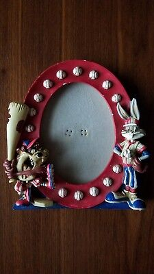 "LOONEY TUNES Bugs Bunny and Taz Baseball 3.5"" x 5"" Photo Frame"