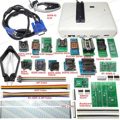 Original RT809H EMMC-NAND FLASH Programmer + With Adapters Cable Set EMMC-Nand