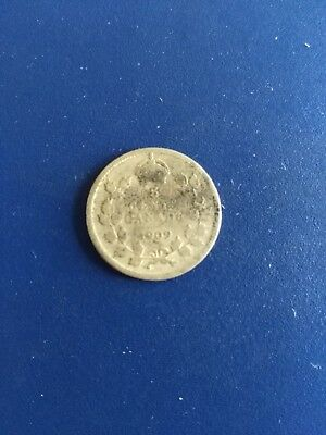 1909 Canadian Silver 5c, No Reserve!